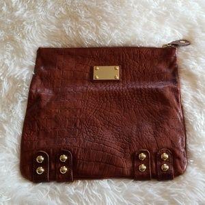 Linea Pelle Leather Clutch